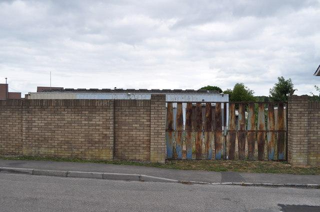 Entrance to former Sedbury Laundry