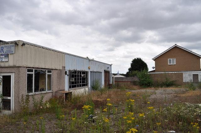 The former Sedbury Laundry