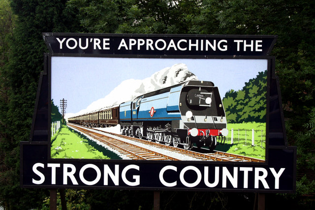 Alton Station:  'Strong Country' poster