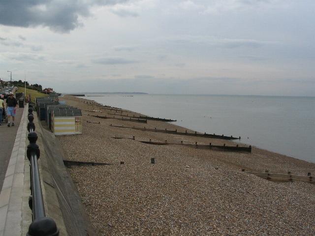 Herne Bay shoreline