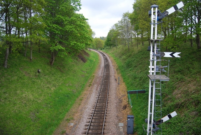 Bluebell Railway north