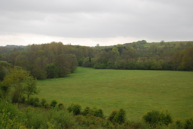 View to Hudds Wood from the Bluebell Line