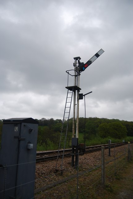 Signal on the Bluebell Line