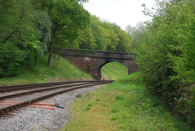 Railway Bridge over the Bluebell Railway