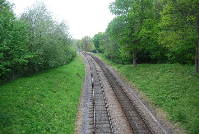 The Bluebell Railway, north of Horsted Keynes Station