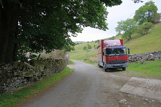 Unclassified Road at Bank Top Farm