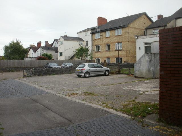 Parking area, Sheaf Lane, Newport