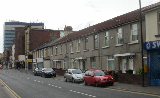 Low numbers, Caerleon Road, Newport