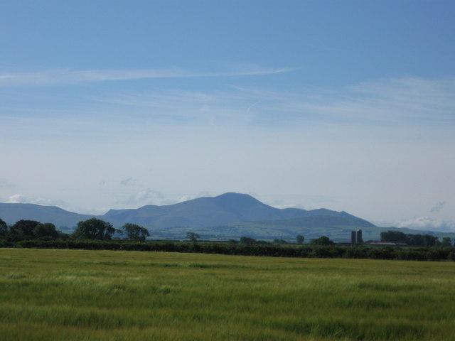 View towards Lakeland Hills