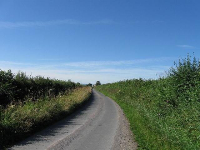 Country Lane towards Marsh House