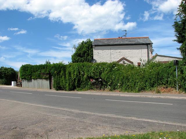 Former railway crossing