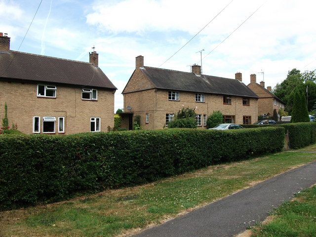 Ex-council houses, Shuckburgh Road, Priors Marston