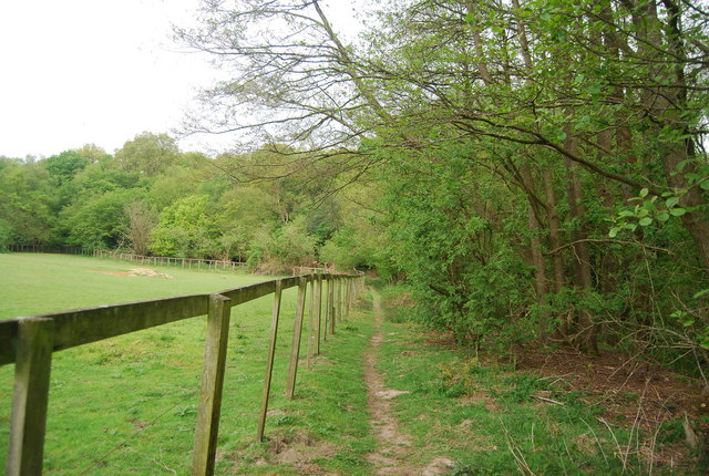 Sussex Ouse Valley Way along Ham Shaw