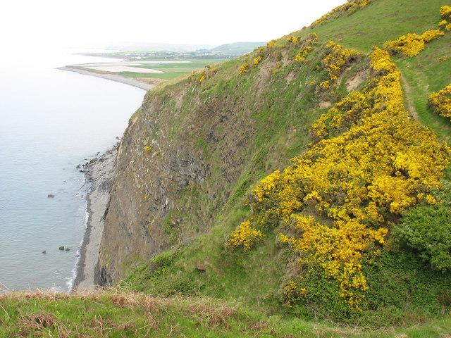 The Graig Ddu cliffs