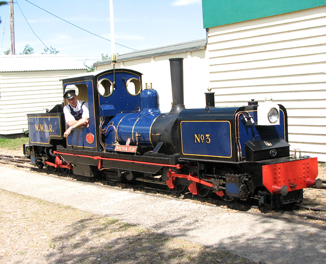"Wells & Walsingham Light Railway - ""Norfolk Hero"""