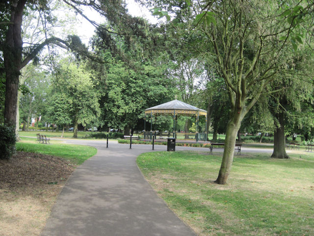Bandstand in Peoples Park