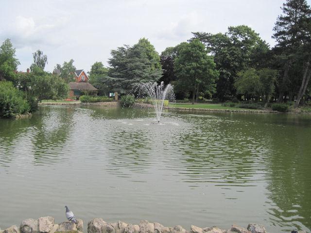 Lake in Peoples Park