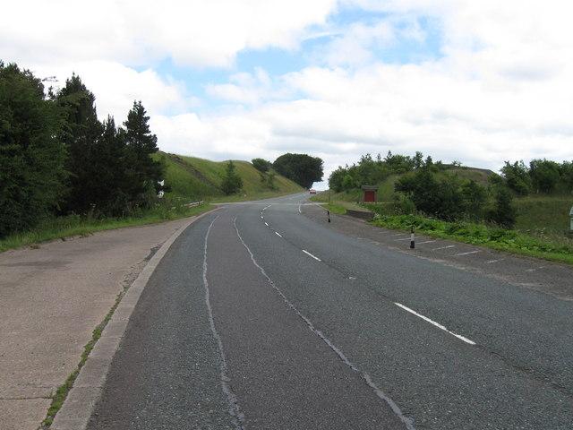 A6 near Shap Fells