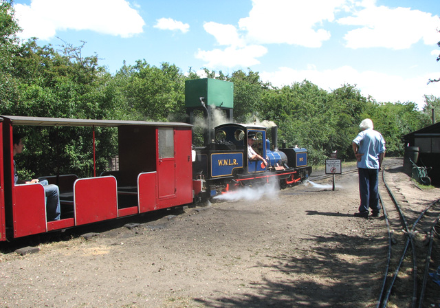 Wells & Walsingham Light Railway - off toWalsingham