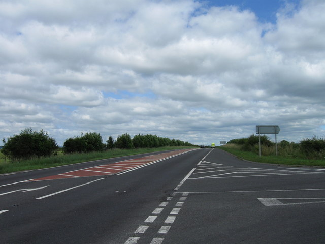 Road junction with A66