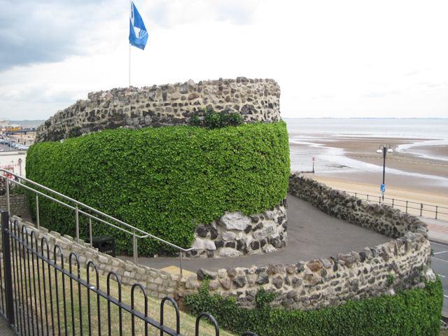 Ross castle at Cleethorpes
