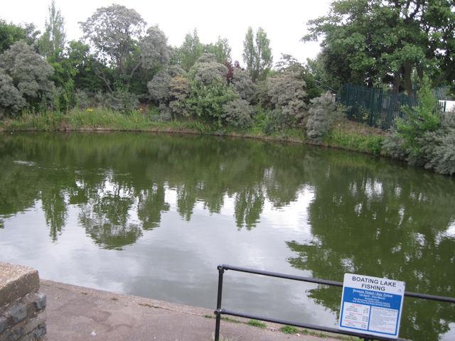 Boating Lake fishing area