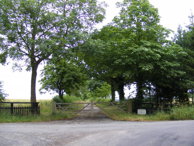 Entrance to Great Lodge Farm