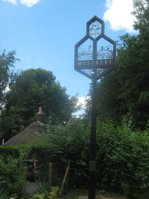 Westbere Village Sign