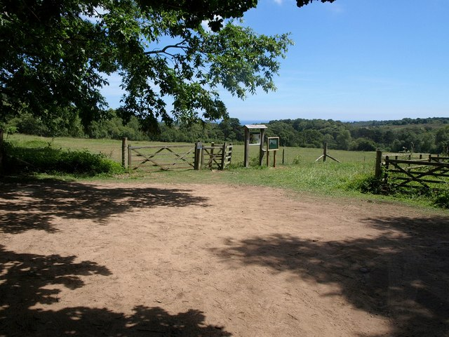 Car park, Bystock nature reserve