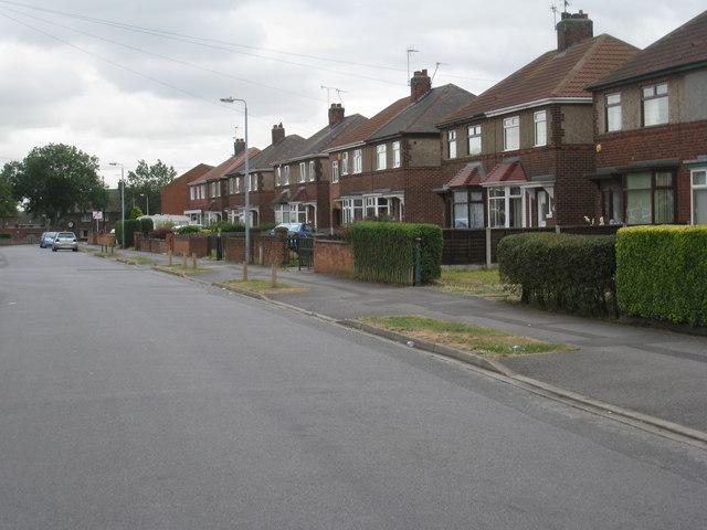Cornwall Road, Ashby