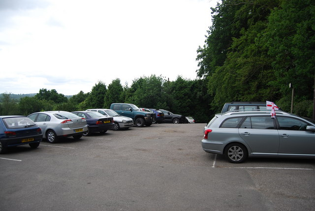 Car park, The Beacon, Tea Garden Lane