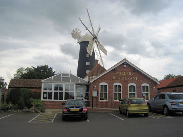 Miller restaurant at Waltham Windmill