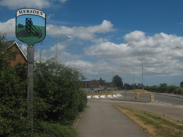Hersden Village Sign