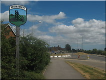 TR1961 : Hersden Village Sign by David Anstiss