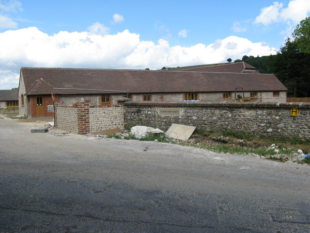 Barn conversions at Manor Farm, East Dean
