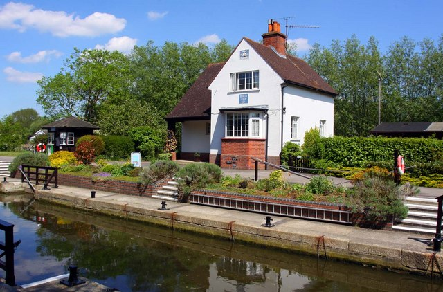 The lock keepers house at Benson