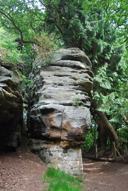 Happy Valley Rocks - The Cheesewright