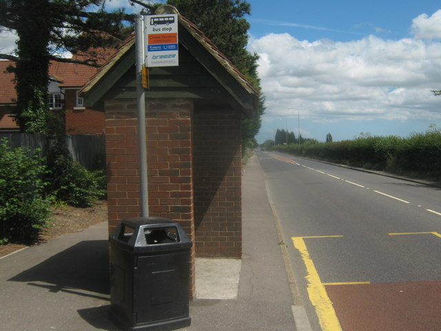 Bus Shelter on the A28