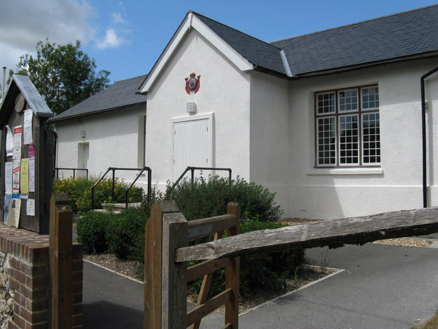 Well kept village hall at East Dean