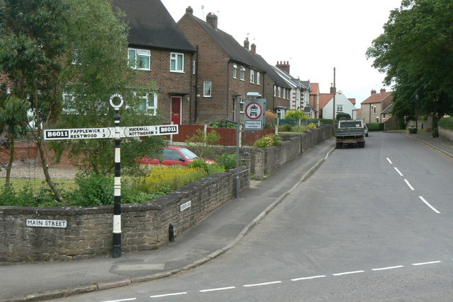 Church Street, Linby