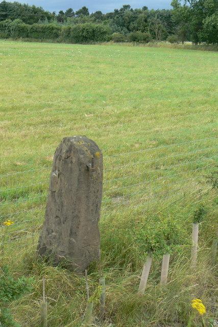 Gatepost on Ollerton Road
