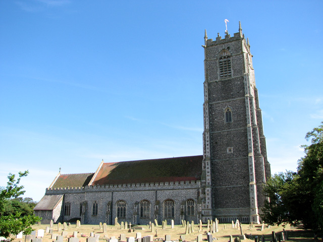 All Saints' church in Winterton