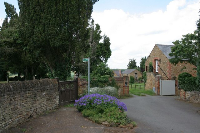 Footpath by the gate