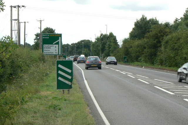 A614, Ollerton Road
