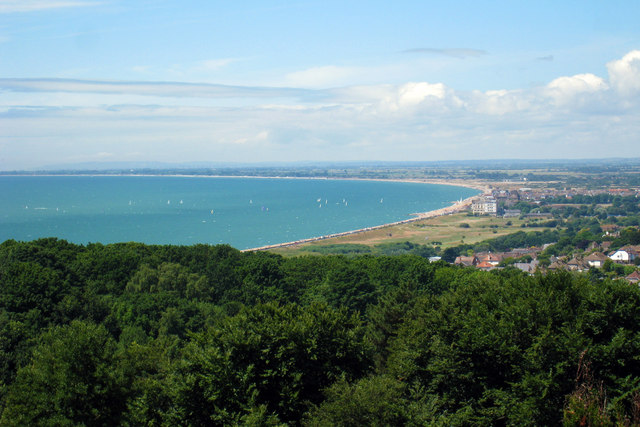 View of Hythe Seafront