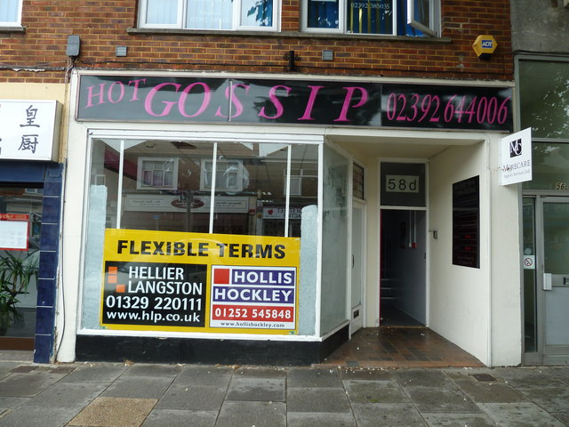 Shop to let in Cosham High Street