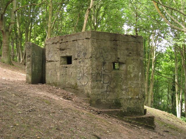 Pillbox near Martello Tower 6