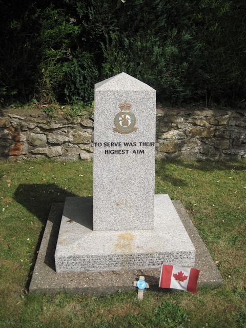 Ludford Magna Memorial Stone