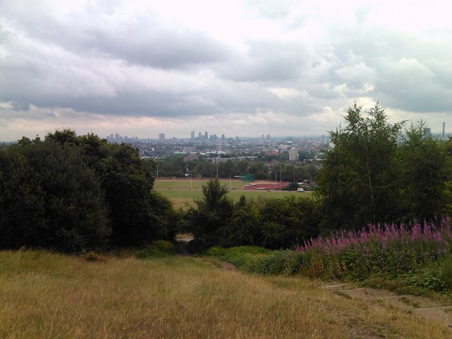 View of London from Hampstead Heath #2
