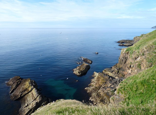 Coastline near Dunbeath